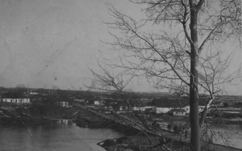 Річка Вільшанка. Пивзавод. 1943р.